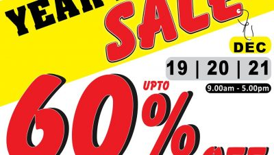 Year End Sale Sri Lanka