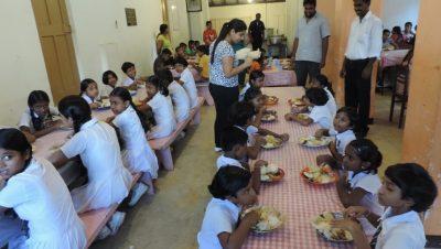 Breakfast for blind school-image1